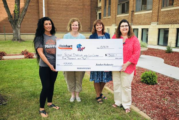 $5000 Donation Presented to Feed School Children